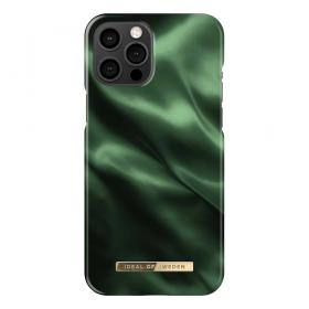 iDeal of Sweden IDeal Of Sweden Fashion iPhone 12 Pro Max Kuori- Emerald Satin