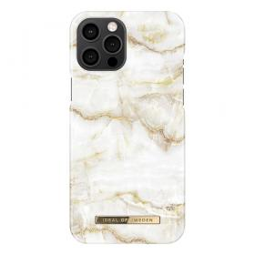 iDeal of Sweden IDeal Of Sweden Fashion iPhone 12 Pro Max Kuori- Golden Pearl Marble