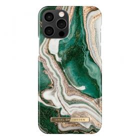 iDeal of Sweden IDeal Fashion iPhone 12/12 Pro kuori- Golden Jade Marble