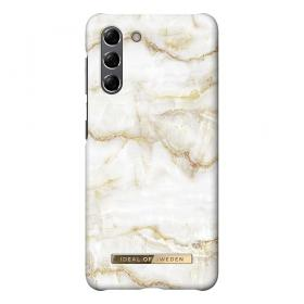 iDeal of Sweden iDeal Fashion Samsung Galaxy S21 kuori- Golden Pearl Marble