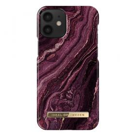 iDeal of Sweden iDeal Fashion iPhone 12 Mini kuori - Golden Plum