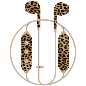 Happy Plugs Happy Plugs Earbud Plus II Bluetooth-kuulokkeet - Leopard