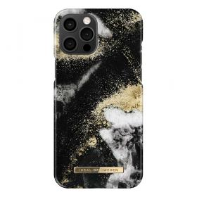 iDeal of Sweden IDeal Of Sweden Fashion iPhone 12 Pro Max Kuori- Black Galaxy Marble