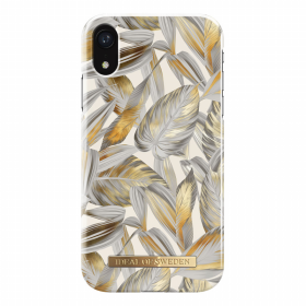 iDeal of Sweden IDeal Fashion iPhone XR- Platinum Leaves kuori