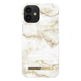 iDeal of Sweden IDeal Fashion iPhone 12 Mini kuori - Golden Pearl Marble