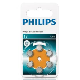 Philips Philips Zinc Air ZA13 PR48 Hearing Aid akku