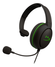 Kingston HyperX CloudX Chat for Xbox gaming-headset- Musta