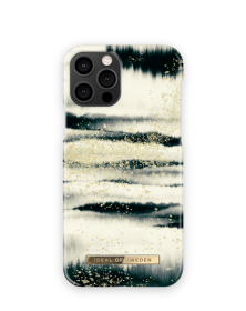 iDeal of Sweden IDeal Fashion iPhone 12/12 Pro kuori - Golden Tie Dye