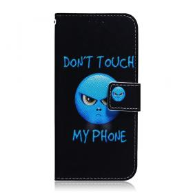 Taltech IPhone 12 Pro- 12 suoja- Don't Touch My Phone