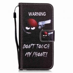 Taltech IPhone 7 & 8/SE 2- Don't touch my phone suoja