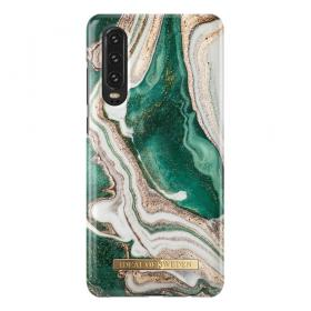 iDeal of Sweden IDeal Fashion Huawei P30- Golden Jade Marble kuori