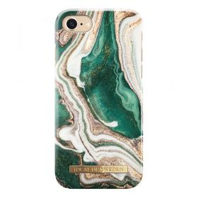 iDeal of Sweden IDeal Fashion iPhone 6, 6S, 7, 8- Golden Jade Marble kuori