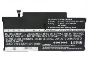 "Macbook Air 13"" 2010-2012 A1466, 7.3V, 6700mAh akku"