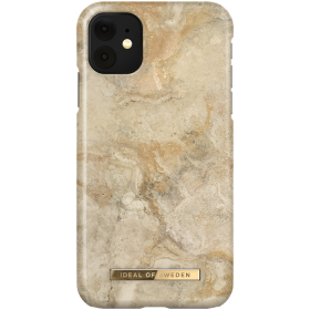iDeal of Sweden IDeal Fashion iPhone XR- Sandstorm Marble kuori