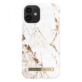 iDeal of Sweden IDeal Fashion iPhone 12 Mini kuori - Carrara Gold