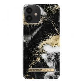 iDeal of Sweden IDeal Fashion iPhone 12 Mini kuori - Black Galaxy Marble