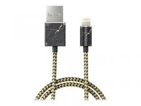 IDeal Fashion Port Laurent Marble USB-A/ Lightning -kaapeli 1m