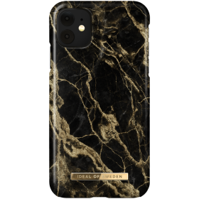 iDeal of Sweden IDeal Fashion iPhone XR- Golden Smoke Marble kuori