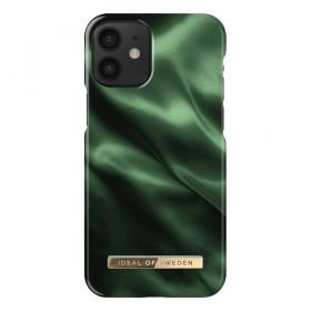 iDeal of Sweden iDeal Fashion iPhone 12 Mini kuori - Emerald Satin