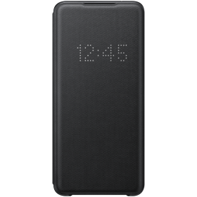 Samsung LED View Cover Samsung Galaxy S20 Ultra suoja - Musta (OUTLET)