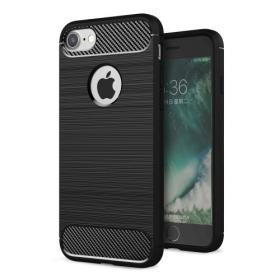 Taltech Musta Rugged Armor iPhone 7, 8 & SE 2 kuori