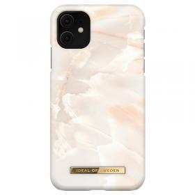 iDeal of Sweden iDeal Fashion iPhone 11/XR kuori - Rose Pearl Marble