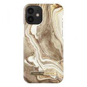 iDeal of Sweden IDeal Fashion iPhone 12 Mini kuori - Golden Sand Marble
