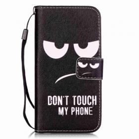 Taltech IPhone 7, 8, SE 2020- Don't touch my phone suoja