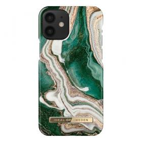 iDeal of Sweden IDeal Fashion iPhone 12 Mini kuori - Golden Jade Marble