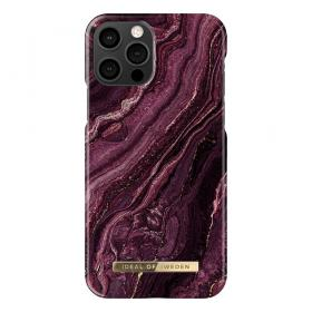 iDeal of Sweden IDeal Fashion iPhone 12/12 Pro kuori - Golden Plum