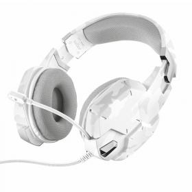 Trust Trust GXT 322 Carus snow camo gaming-headset- Valkoinen