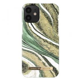 iDeal of Sweden iDeal Fashion iPhone 12 Mini kuori - Cosmic Green Swirl