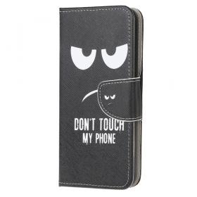 Taltech Samsung Galaxy Xcover 5 Smooth Wallet suoja - Don't Touch