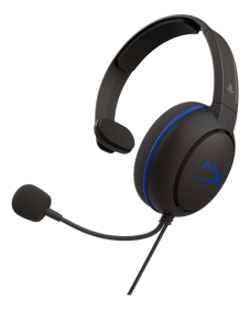 Kingston HyperX Cloud Chat for PS4 gaming-headset- Musta