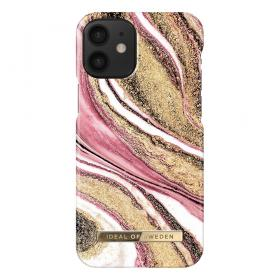 iDeal of Sweden iDeal Fashion iPhone 12 Mini kuori - Cosmic Pink Swirl